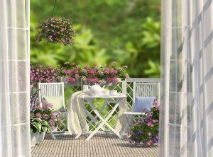 Plastikowe meble ogrodowe